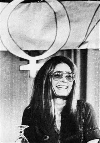 Gloria Steinem has learned the power of our sisterhood!
