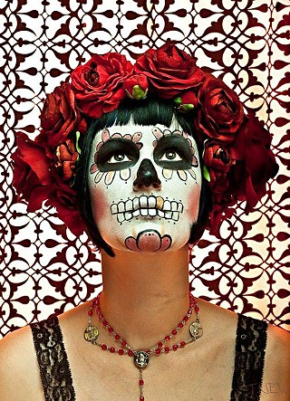 Dia de los Muertos altars and Day of the Dead procession (see Saturday)