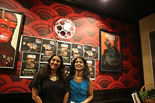 Alka Bhanot (r) with her business partner, Anjalika Sharma