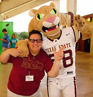 Your humble Gay Place confesses mascot loyalty. Go, Bobcats! (See Saturday)!