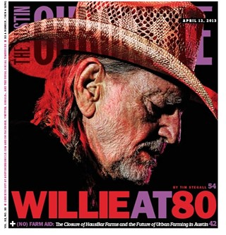 Willie Nelson's Autobiography at Gruene Hall