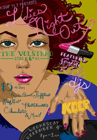 Ladies Night Out at the Volstead
