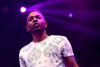 King of the 56th Annual Grammy Awards? Kendrick Lamar at the Austin City Limits Music Festival 2013