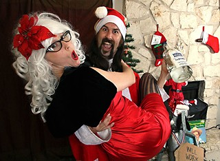 I Saw Mommy Snogging Santa Claus: Wild Bill, his wife Amanda, and a bottle of holiday spirit