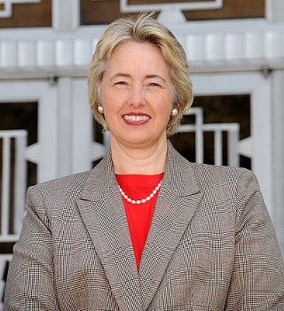 Houston Mayor Annise Parker, betrothed.