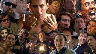 The many, many, many faces of Nicolas Cage