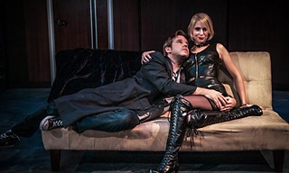 Slave to love: Gray G. Haddock and Molly Karrasch in <i>Venus in Fur</i>