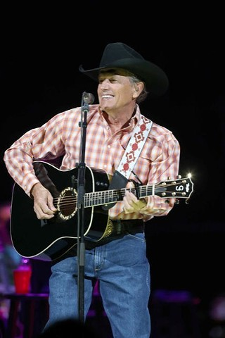 The screams for George Strait last night at the Frank Erwin Center – Austin stop of the Cowboy Rides Away tour – were louder than those for Sir Paul McCartney at the same venue last May.