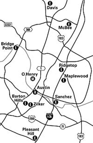 These eleven Austin schools requested funding from the state/federal Safe Routes to Schools program. TxDOT recently announced that none of them made the cut. Barton Hills, Austin High, and O. Henry combined as a single project.