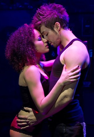 Whatsername (Olivia Puckett) and Johnny (Jared Nepute) in 'American Idiot'