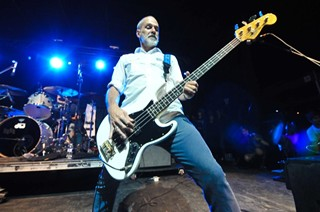 Descendents bassist Karl Karl Alvarez at Fun Fun Fun Fest 2013