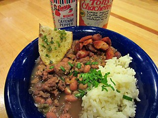 Rancho Winslow's Cajun Red Beans & Rice