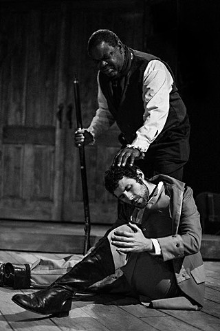 The slave blessing the master: Robert Pellette's Simon and Andrew Bosworth's Caleb in <i>The Whipping Man</i>