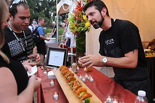 James Beard Award nominee David Bull at last year's Austin Food & Wine Festival