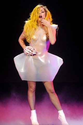 """Do What U Want"": Lady Gaga at the Frank Erwin Center, 4.6.2011"