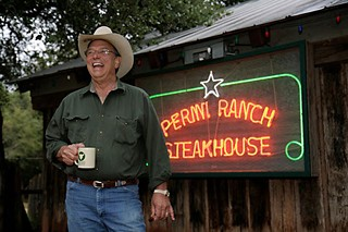Tom Perini at Perini Ranch Steakhouse