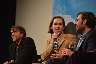 (l-r) Richard Linklater, Wes Anderson, and Jason Schwartzman