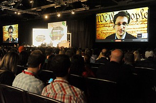 A virtual conversation with Edward Snowden at SXSW Interactive