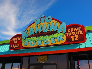 I'll take a Utah meal, double pineapple. The famous Big Kahuna Burger opens its doors From Dusk Till Dawn.
