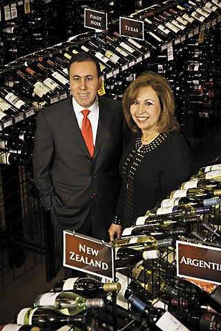 Twin Liquors owners David and Margaret Jabour
