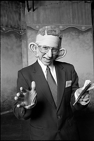 Wood as H. Ross Perot