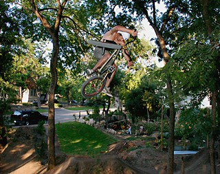 The BMX trails at Duncan Park
