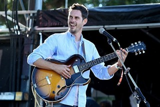 White Denim frontman James Petralli in Zilker Park last October for ACL Fest