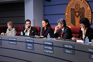 The November 2012 election ushered in a new AISD board with fewer Carstarphen allies.