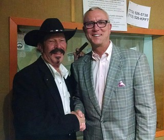 Hell freezes over in Houston: Kinky Friedman gets more than a handshake from Chris Bell, the Democrat he helped defeat in 2006