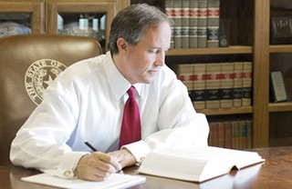 Sen. Ken Paxton: Probably reading up on securities law around now