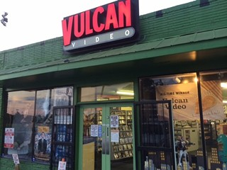 The new Vulcan Video on North Loop. Our readers had the good sense to prompt the banner at right.