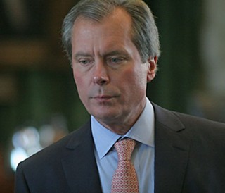 Lt. Gov. David Dewhurst: Soon gone, but his successor may not have much to celebrate, if Senate rumors are true