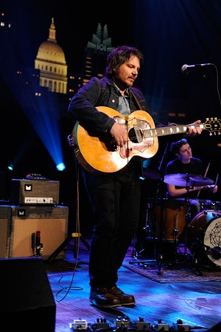 Jeff Tweedy Friday night at 'Austin City Limits,' 6.20.14