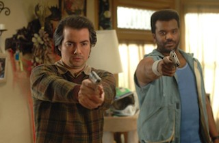 Kevin Corrigan (with Craig Robinson) in 2008's Pineapple Express