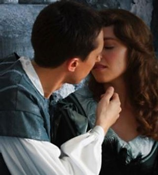 Still star-crossed: Ryan Crowder as Romeo 