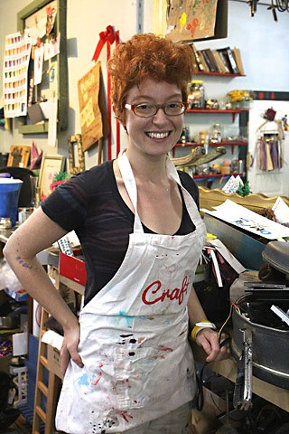 Elisabeth Winkelman, proprietor of Craft, isn't afraid to get her – or your – hands dirty.