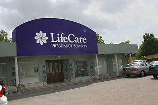 A local crisis pregnancy 'clinic'