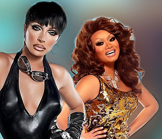 Raven & Jujubee, back for more punishment  (see Sunday)