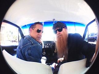 Mike Flanigin and Billy Gibbons