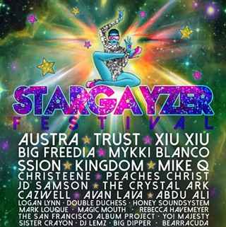 Stargayzer Fest Moves Downtown