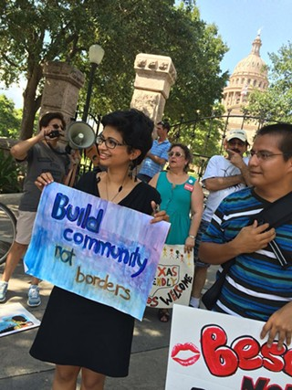 Activists gathered at the Capitol last Thursday.
