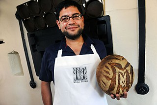 Sandeep Gyawali of Miche Bread