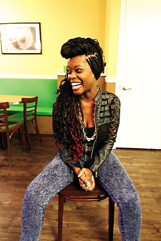 Catch ally and slam poetrix Ebony Stewart at two events this week