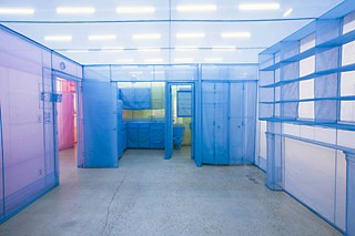 Do Ho Suh, <i>Apartment A, Unit 2, Corridor and Staircase, 348 West 22nd Street, New York, NY 10011, USA</i> (detail)