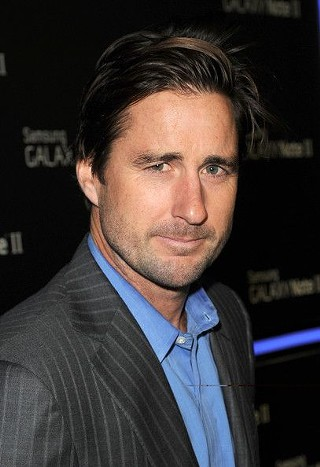 Fifth time's the charm: Luke Wilson finally takes home his own Texas Film Award.