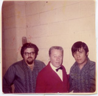 The Birds and the Bangs: George Gobel (center) and Ernie Durawa (r)