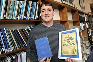 Mike Miller, director and archivist of the Austin History Center
