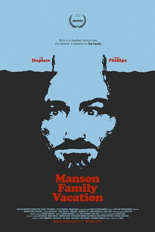 Graphic designer Yen Tan won the won the award for Excellence in Poster Design for his Manson Family Vacation poster at the 2015 SXSW Film Awards on Tuesday, March 17.