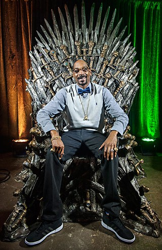 Stoned on the Throne: SXSW keynote Snoop Dogg