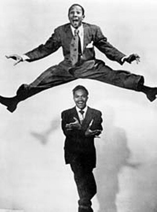 The Nicholas Brothers: Harold (above)  and Fayard